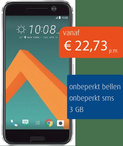 Zakelijkbellen.nl Abbonement HTC