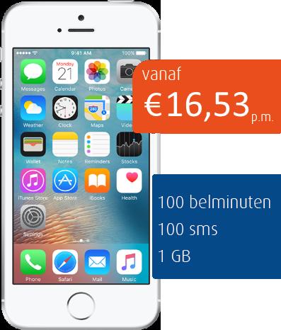 apple-iphone-5se-silver-zakelijk-mobiel