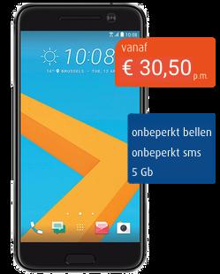 HTC 10 zakelijk abonnement mobiel