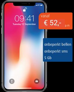 iphone x zakelijk mobiel abonnement