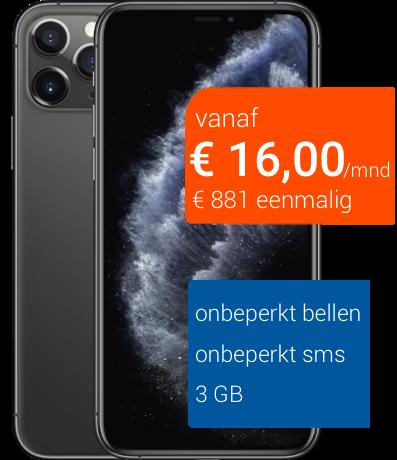 iphone 11 pro 64 gb zakelijk abonnement